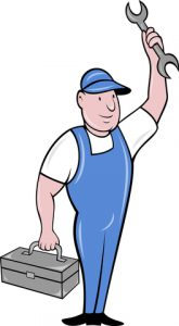 cartoon maintenance contractor